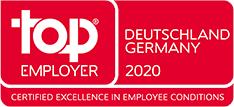 """Auszeichnung """"Top Employer 2020"""""""